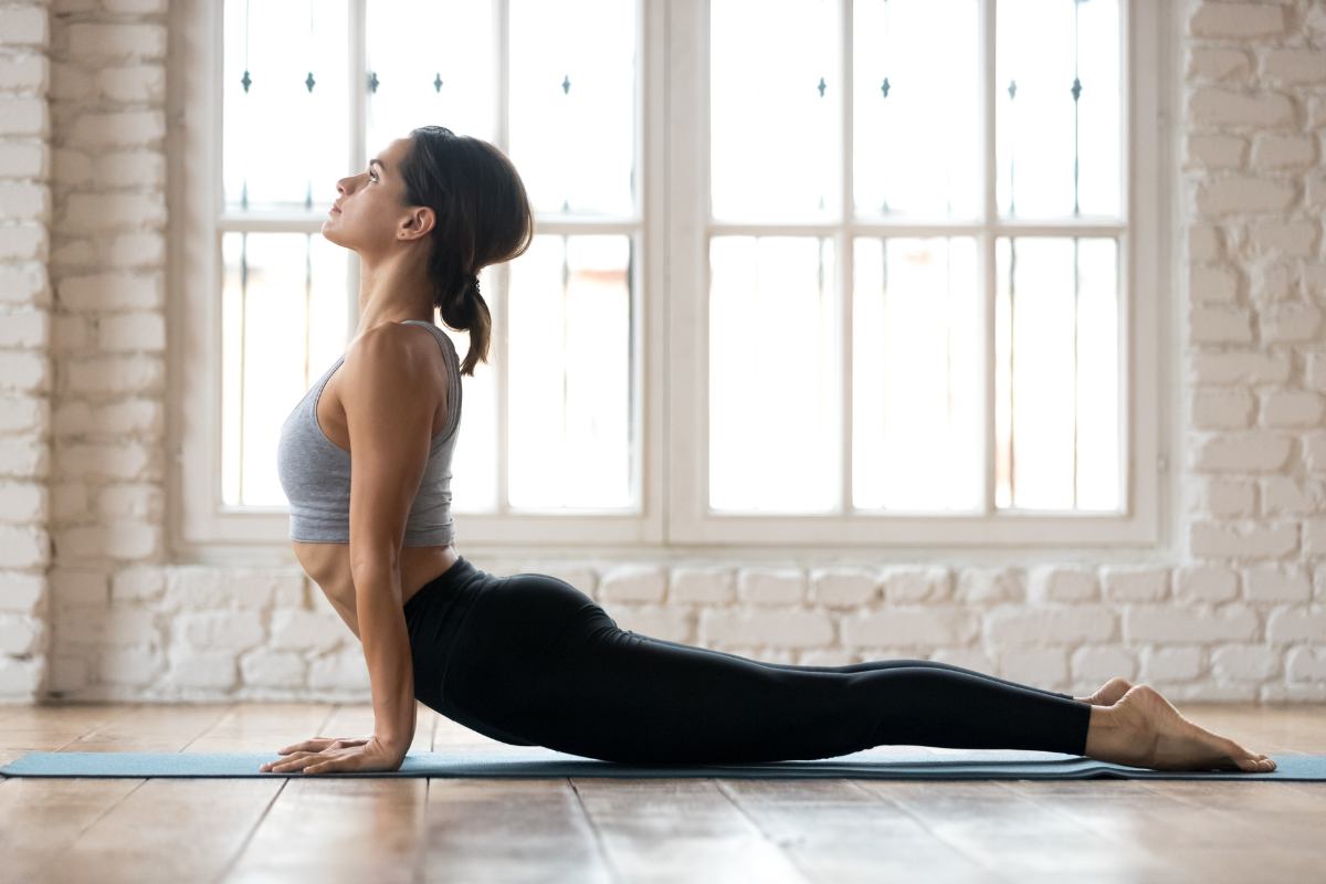 8 Yoga Stretches For Hashimoto's Disease